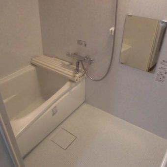 ミニマリストさんが選んだシンプルすっきりバスルーム!札幌市マンション