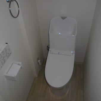 TOTO『GG1-800』ウォッシュレット一体型トイレですっきり空間!札幌市マンション
