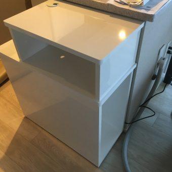 スペースを有効活用、SKサイドキャビネットオーダー製作!札幌市マンション