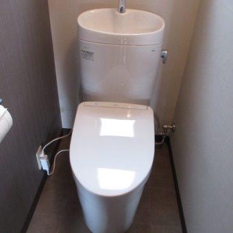 TOTO『ピュアレストEX』+WL『アプリコットF1A』で快適なトイレへ!札幌市戸建