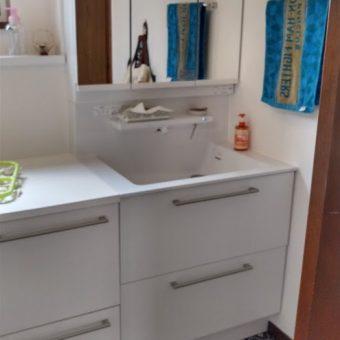 TOTOのきれい除菌水が魅力、オクターブで快適洗面空間へ!岩見沢戸建