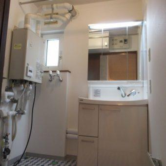 広々ユーティリティにスタイリッシュに映える洗面『ファンシオ』へリフォーム!札幌市戸建