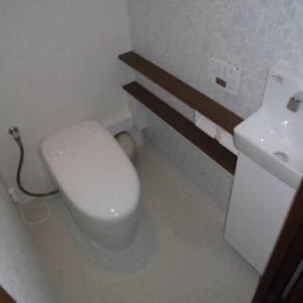 TOTO『ネオレスト/手洗器付』で理想のトイレ空間へとリフォーム!札幌市マンション