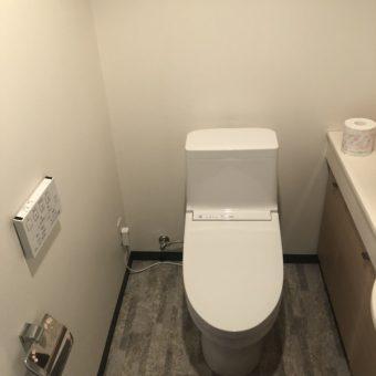 TOTOウォッシュレット一体形『ZJ1/手洗いなし』でリーズナブルリフォーム!札幌市マンション