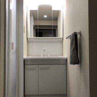 コスパの良いTOTO洗面化粧台『Vシリーズ』へリフォーム!札幌市マンション