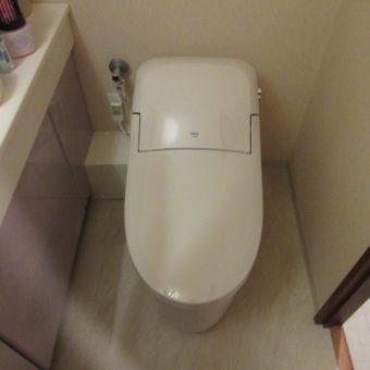 LIXIL(INAX)トイレ『プレアスLS』コンパクトですっきりとした空間へ!札幌市マンション