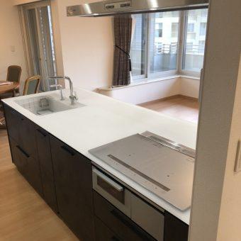 TOTOキッチン『ザ・クラッソ』にボッシュ食洗で高級感あふれる空間!札幌市マンション