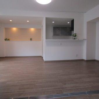 和室は洋室へ作り変え、エコカラットプラス施工で空間が進化する!札幌市マンション