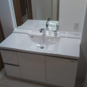 タカラスタンダード『リフレシオ』でリーズナブルに洗面下台リフォーム!札幌市マンション