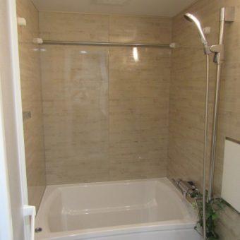 ホーロークリーン浴室パネルでお風呂のお掃除がラクラク!札幌市マンション