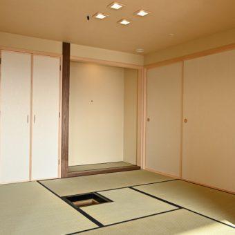 マンションの和室を茶室へとリフォームしておもてなし空間を作りました!札幌市マンション