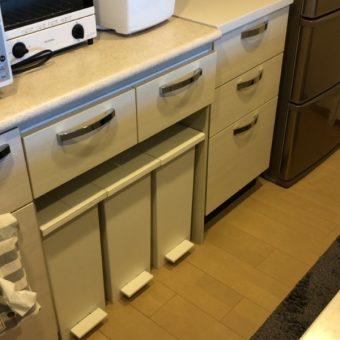 既存の食器棚を加工して、自分だけの使いやすいカタチへ!札幌市マンション