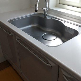 キッチン水栓、LIXIL(INAX)タッチレス水栓『ナビッシュ』に交換!札幌市戸建