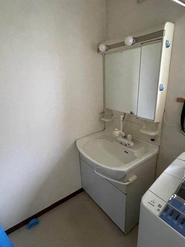 1施工前洗面