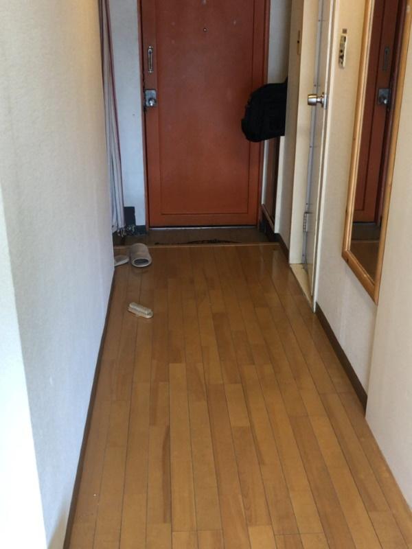 1施工前居室廊下